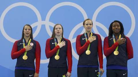 Historic 1,000th Olympic Gold Medal for Team USA