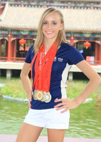 Team Usa Women S Nastia Liukin 2008 Olympics 5 Gymnastics