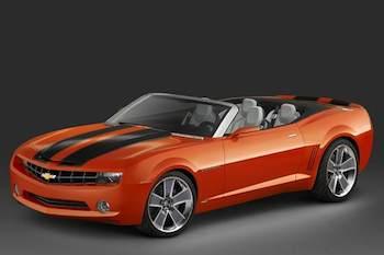 Chevrolet Camaro Convertible Debuts