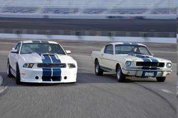 2011 and 1964 Mustang Shelby GT350 Returns to Action