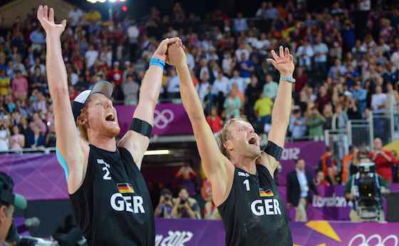 Brink and Reckermann Win Men's Beach Volleyball Gold in Thriller