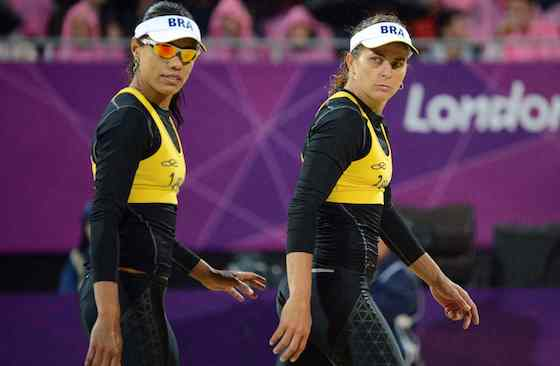 Brazil's Juliana and Larissa Fight Back to Win Bronze in Women's Beach Volleyball