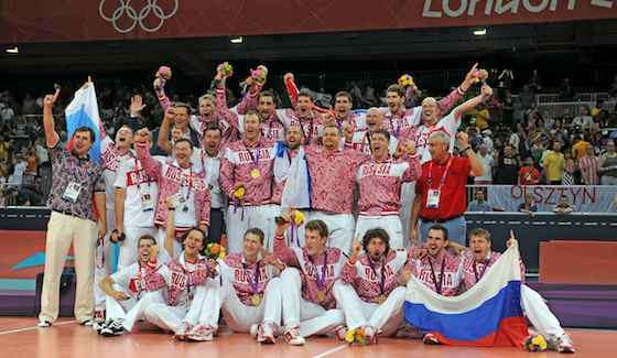 Russia Wins Gold; Brazil and Italy Get Silver and Bronze