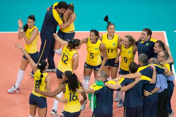 Brazil Stuns USA for Women's Volleyball Gold