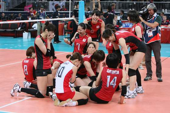 Japan Claims Women's Volleyball Bronze