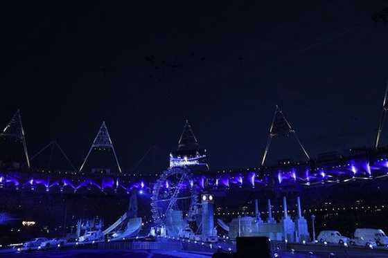 The Closing Ceremony of the 2012 Summer Olympic Games (Photo by: Paul Drinkwater/NBC)