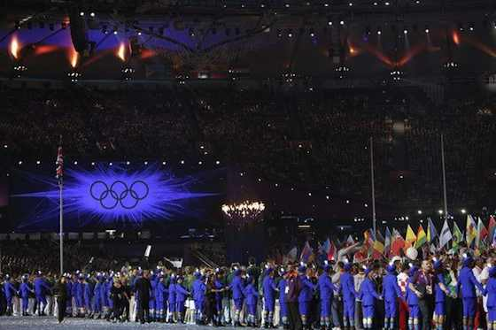 The Closing Ceremony of the 2012 Summer Olympic Games -- (Photo by: Paul Drinkwater/NBC)