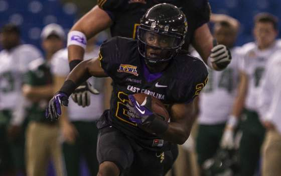 East Carolina Downs Ohio, Wins Beef O'Brady Bowl