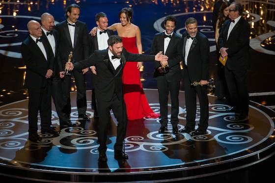 Argo Wins Top Oscar Prize