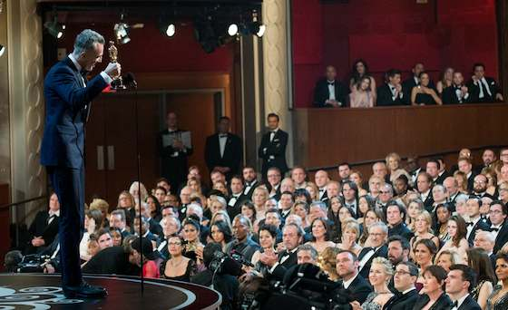 Daniel Day-Lewis Wins 3rd Oscar for 'Lincoln'