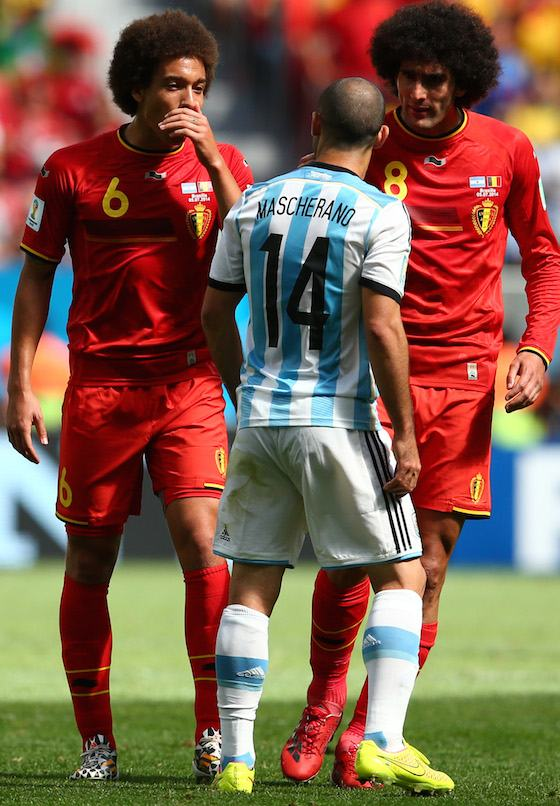 2014 World Cup Photos - Quarterfinals : Argentina vs Belgium - 2014 FIFA World Cup Brazil - 2014 FIFA World Cup Brazil | World Cup