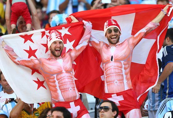 2014 World Cup Photos - Round of 16: Argentina vs Switzerland - 2014 FIFA World Cup Brazil - 2014 FIFA World Cup Brazil   World Cup