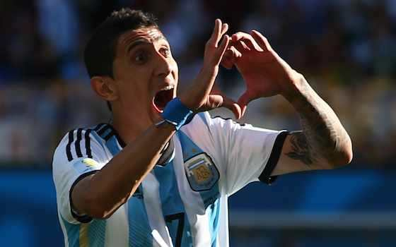 Di Maria Nets Winner for Argentina - Argentina v Switzerland - Round of 16   2014 World Cup