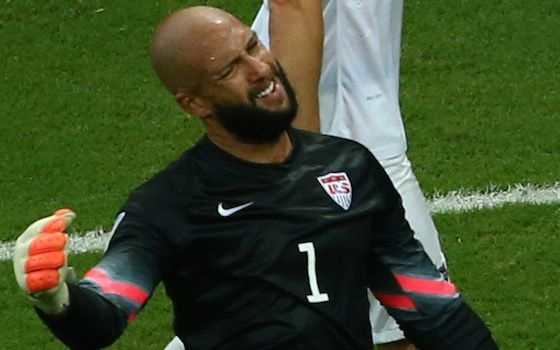 Tim Howard: Part Brick Wall, Part Superhero, All-American Hero - USA vs Belgium - Round of 16   2014 World Cup