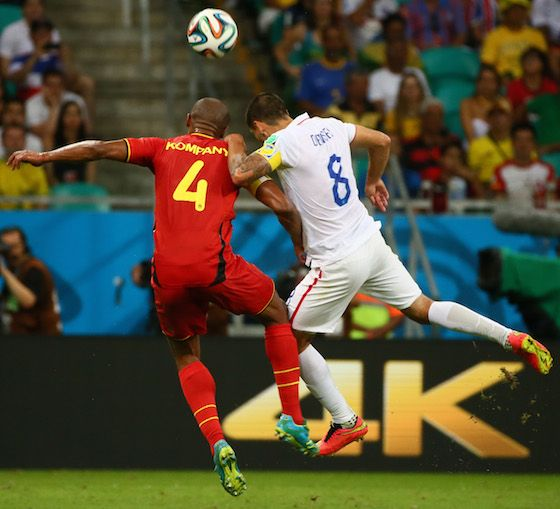 2014 World Cup Photos - Round of 16: USA vs Belgium - 2014 FIFA World Cup Brazil - 2014 FIFA World Cup Brazil | World Cup