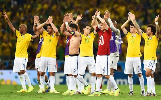 Brazil Eliminates Colombia 2-1 - USA vs Belgium - Round of 16 | 2014 World Cup