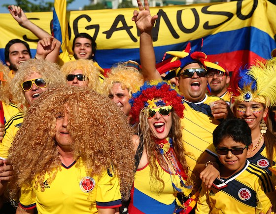 2014 World Cup Photos - Round of 16: Colombia vs Uruguay - 2014 FIFA World Cup Brazil - 2014 FIFA World Cup Brazil | World Cup