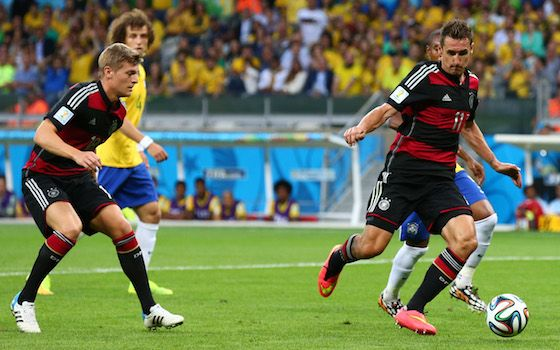 Numerous Records Set in German Demolishing of Brazil - 2014 World Cup Semifinals
