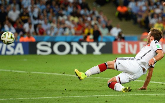 Gotze Goal Earns Germany World Cup - 2014 World Cup Semifinals