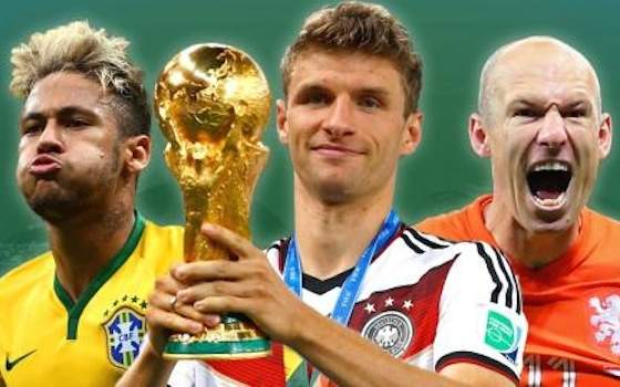 2014 World Cup Team of the Tournament - 2014 World Cup Semifinals