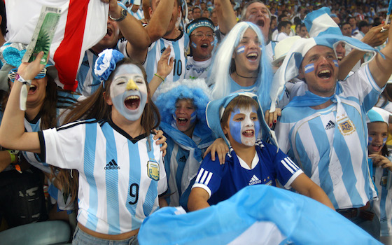 Argentina Celebrates After Messi Seals 2-1 Victory Over Bosnia | World Cup