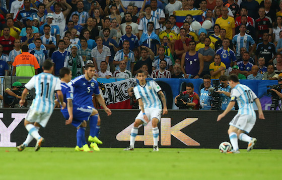 2014 World Cup Photos - Argentina v Bosnia-Herzegovina: Group F - 2014 FIFA World Cup Brazil   World Cup