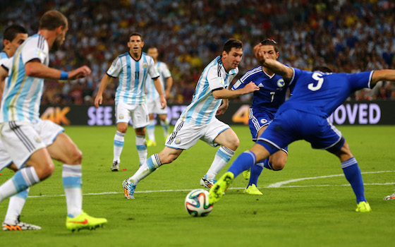 Argentina Holds Off Bosnia 2-1 | World Cup