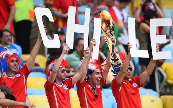 Chile: Forget History, We're Coming for You Brazil | World Cup