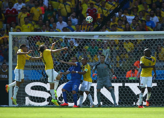 2014 World Cup Photos - Colombia vs Greece   World Cup