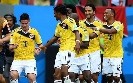 Colombia Beats Ivory Coast to Close in on Knockout Round   World Cup
