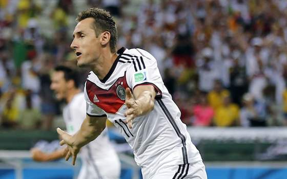 Klose Salvages 2-2 Tie for Germany | World Cup