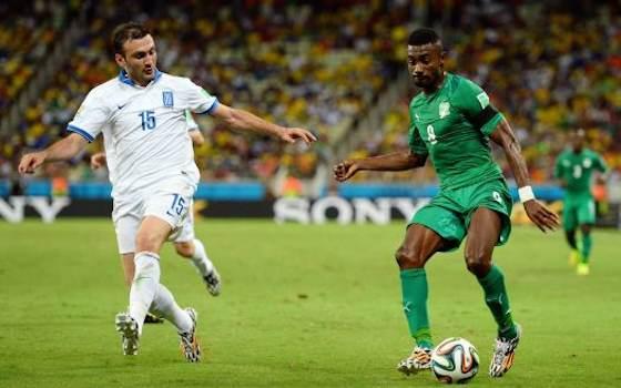 2014 World Cup Photos - Greece vs Ivory Coast: Group C - 2014 FIFA World Cup Brazil - 2014 FIFA World Cup Brazil   World Cup