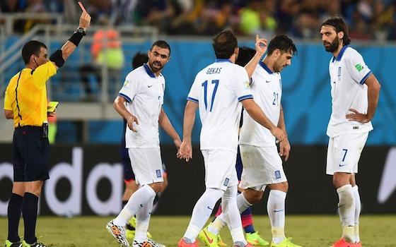 Japan and Greece Battle to 0-0 Draw   World Cup