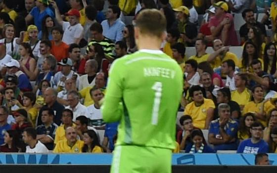 Is a Laser To Blame for Russia's Loss to Algeria? | World Cup