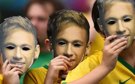 Brazil Needed More Than Neymar Masks - 2014 World Cup Semifinals