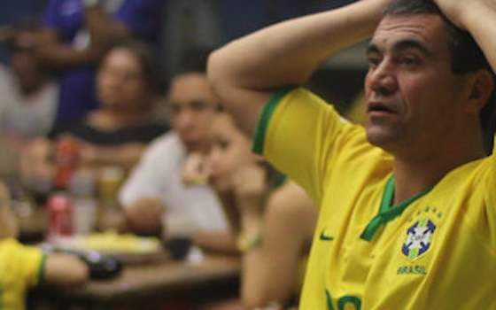 Brazilians Confront Defeat - 2014 World Cup Semifinals