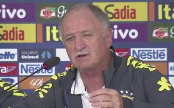 Scolari Reacts to Germany Route - 2014 World Cup Semifinals