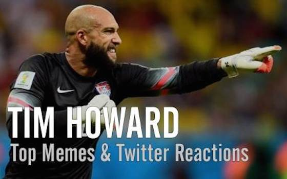 US Goalie Tim Howard's Top Memes and Twitter Reactions - USA vs Belgium - Round of 16 | 2014 World Cup