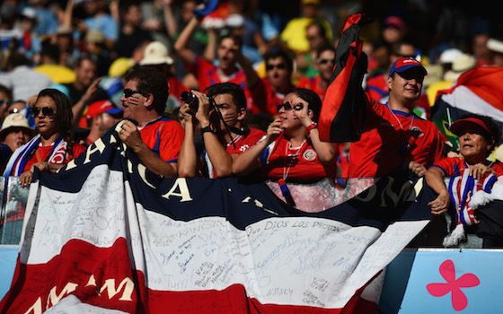 Costa Rican Fans Ecstatic with 3-1 Victory Over Uruguay | World Cup