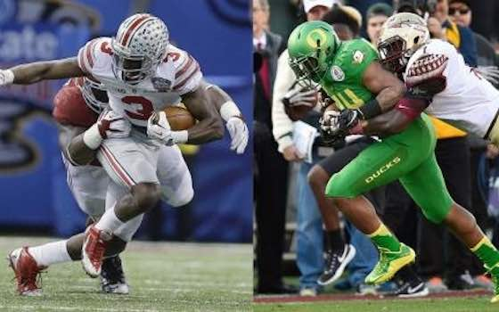 Will Oregon or Ohio State Win the First College Football Championship?