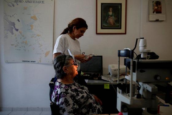 Greek Islanders Rely on Volunteers and God