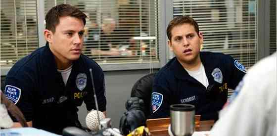 Jonah Hill and Channing Tatumin 21 Jump Street