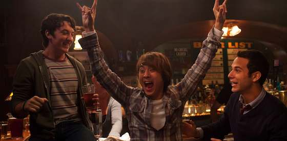 Jonathan Keltz and Justin Chon  in '21 and Over'