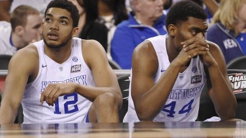 Kentucky Loses Perfect Season