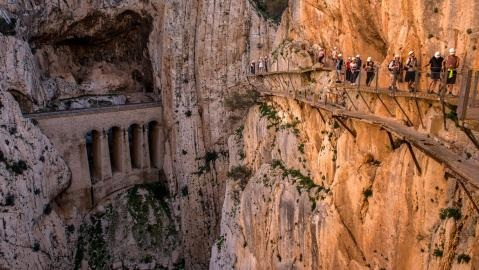 El Caminito del Rey Reopens After 15 Years
