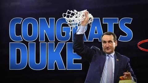 Duke Wins 5th National Championship