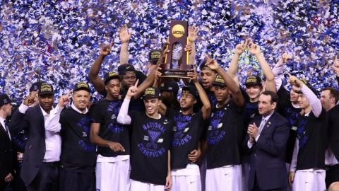 Duke's Fantastic Freshmen Lead Blue Devils to the National Title
