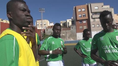 African Migrants Integrate Through Soccer