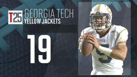 College Football Preseason Top 25: Georgia Tech Yellow Jackets, No. 19
