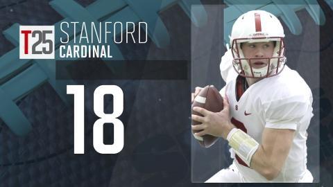 College Football Preseason Top 25: Stanford Cardinal, No. 18
